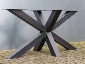stalen tafelonderstel dubbelkruis Rosmalen