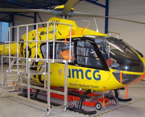 Helicopterwerkplateau's verzinkt traumaheli Lelystad