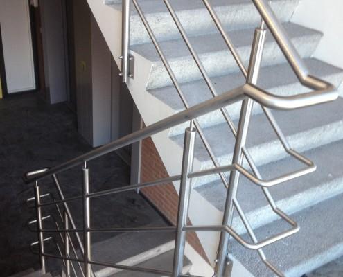 RVS balustrade kantoorpand Den Bosch