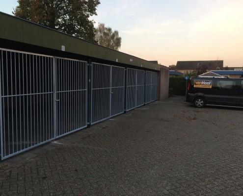 Hekwerken garageboxen Heeswijk-Dinther