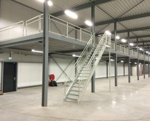 Trap en balustrade nieuwbouw industrie