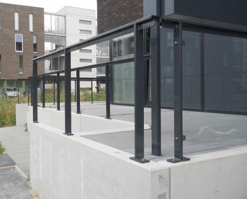 """Leuning en hekwerken """"Jongerencentrum De Poort"""" Den Bosch"""