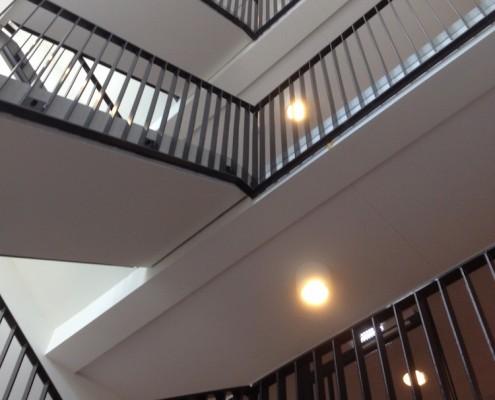 stalen traphekken Nijmegen Nieuwbouw verpleeghuis