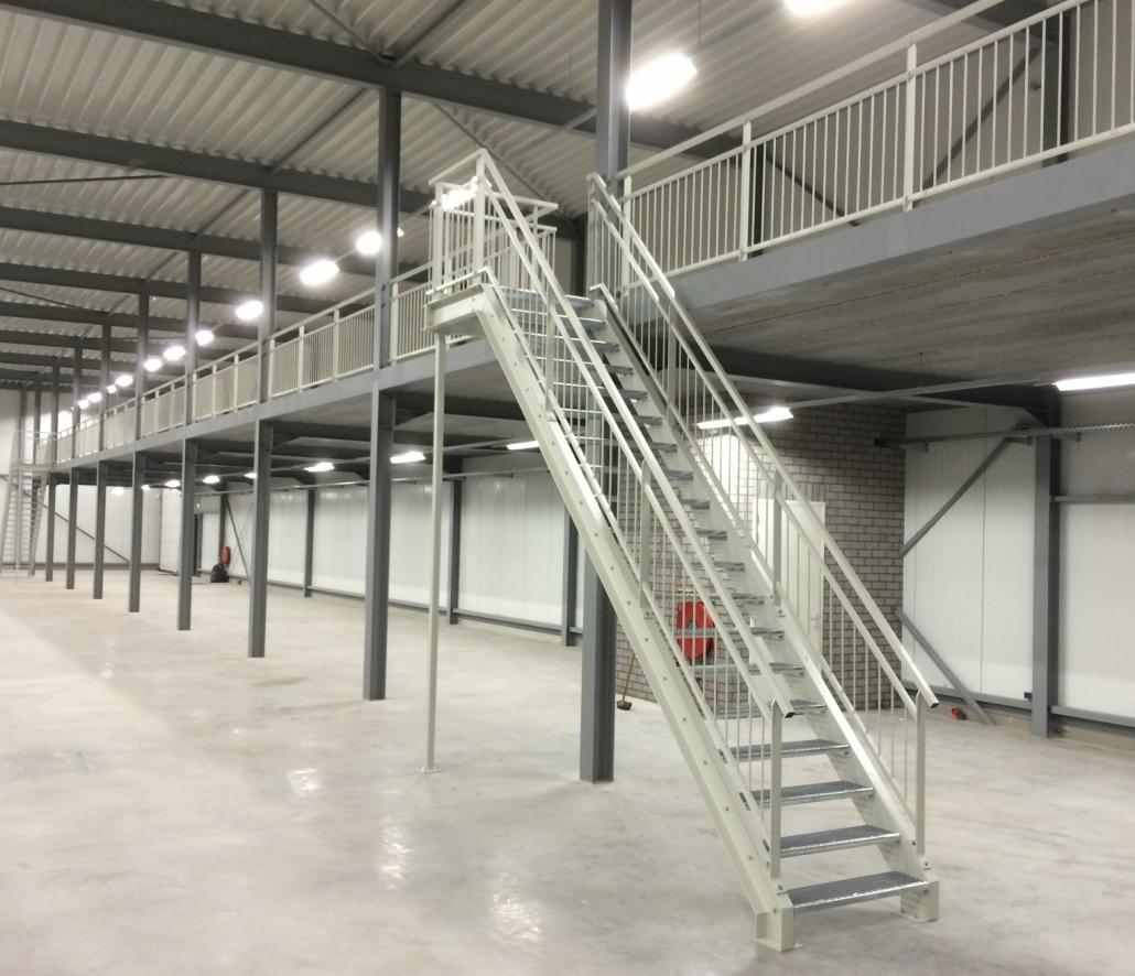 Hedendaags Stalen trappen op maat - Van Hoof Metaalbewerking Rosmalen HZ-63
