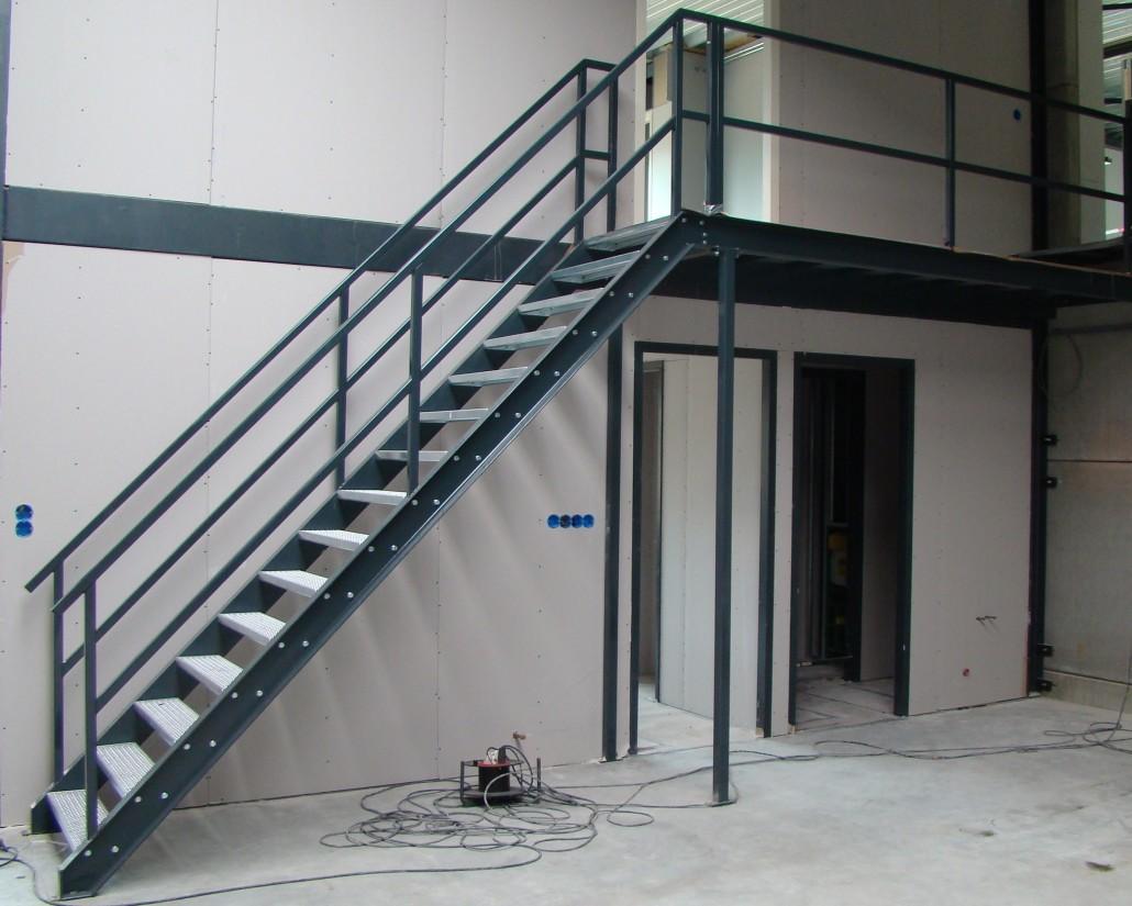 Wonderbaar Stalen trappen op maat - Van Hoof Metaalbewerking Rosmalen RL-85