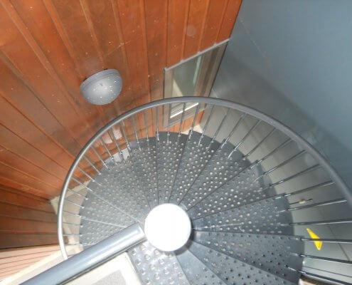 spiltrap staal nieuwbouw kantoor Den Bosch