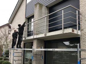RVS balkonhekwerk