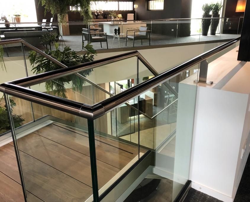 balustrade rvs met glas Swan Products Nieuwkuijk