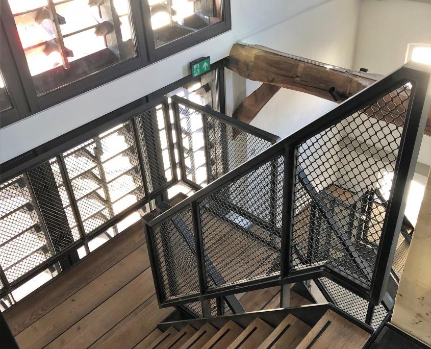 stalen trap oude leerlooierij Riel
