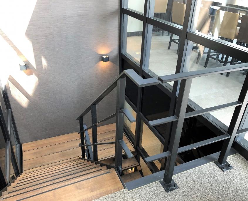 stalen balustrades bedrijfspand