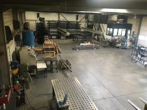 werkplaats van Hoof metaalbewerking rosmalen