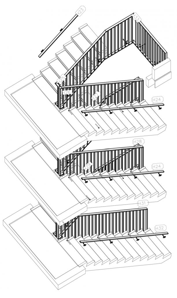 stalen balustrades nieuwbouw